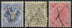 4745085: Austria Issue 1883 - Bulk lot