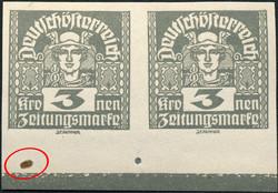 4745100: Österreich Deutsch-Österreich - Zeitungsmarken