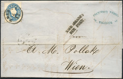 4745060: Austria 1860 Issue - Cancellations and seals