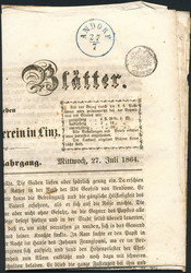 4745320: Austria Cancellations Upper Austria - Cancellations and seals