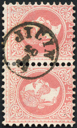 4745075: Austria 1867 Issue - Cancellations and seals