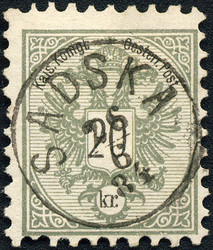 4745085: Austria Issue 1883 -