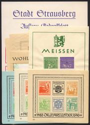 726: Deutsche Lokalausgaben 1945 -