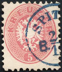 4745070: Österreich Ausgabe 1863/64 -