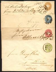4745065: Austria 1863 Issue -