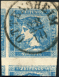 4745052: Austria Newspaper Stamps 1851 -