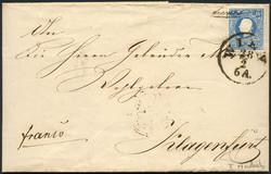 4745055: Österreich Ausgabe 1858 -
