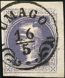 4745082: Österreich Zeitungsmarke 1867/80 -