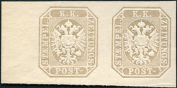 4745072: Austria Newspaper Stamp 1863