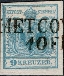 4745355: Österreich Abstempelungen Dalmatien - Stempel
