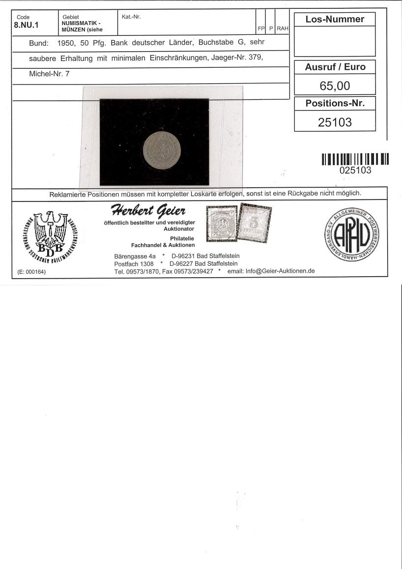 Philasearch.com - Coins German Federal Republic