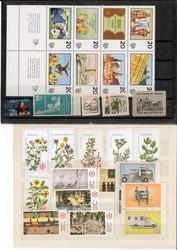 7740: Sammlungen und Posten Vignetten - Dienstmarken