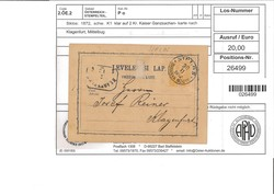 4745300: Austria Cancellations - Postal stationery