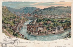 190010: Switzerland, Canton Aargau - Picture postcards