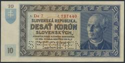 110.450: Banknotes - Slovakia