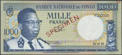 110.550.475: Banknoten - Afrika - Zaire