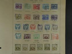 Europa Briefmarkenalbum Mit Marken Tschechoslowakei Ab 1918-1970 Gestempelt Litauen