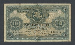 110.260: Banknotes - Lithuania