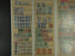 7460: Collections and Lots Indian States - Stamps bulk lot