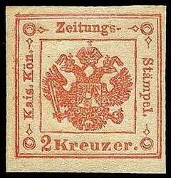 4775: Österreich Lombardei Venetetien Zeitungsstempelmarken