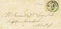 4775: Lombardy Venetia Newspaper Tax Stamps
