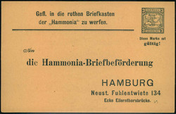 140: L'Empire allemand, Poste de ville - Private postal stationery