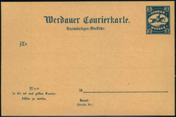 140: L'Empire allemand, Poste de ville - Postal stationery
