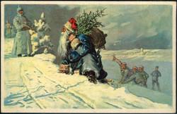 482036: Military, WW-I, War Christmas