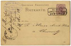 119620: Deutschland Ost, Plz Gebiet O-96, 962 Werdau
