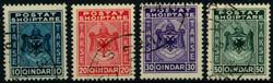 1620: 阿爾巴尼亞 - Postage due stamps