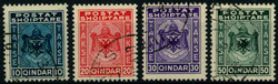 1620: Albanien - Portomarken