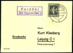 112820: Deutschland Ost, Plz Gebiet O-28, 282 Hagenow