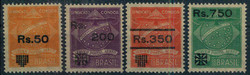 1935: Brasilien - Flugpostmarken