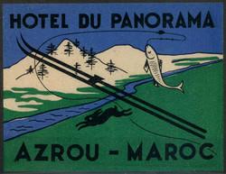 4380: Marokko - Aufkleber