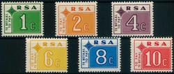 6085: Südafrika - Portomarken