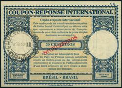1935: Brasilien - Internationaler Antwortschein