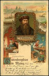 357010: Kunst u. Kultur, Erfinder, Gutenberg