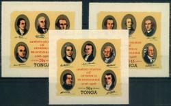 6255: Tonga - Dienstmarken