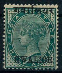 3135: Indien Staaten Gwalior