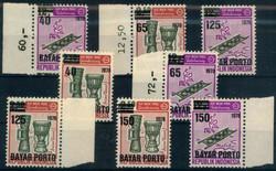 3260: Indonesien - Portomarken