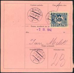 5760: Slowakei - Portomarken