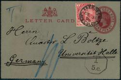 3855: 喜望峰 - Postal stationery