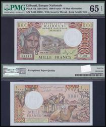 110.550.100: Banknoten - Afrika - Dschibuti