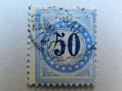 5655202: Postage Due 1882, 9. Printing, TYPE II, KZ. I (FASERPAPIER)