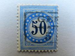 5655200: Postage Due 1878/81, 4.-8. Printing, TYPE II, KZ. I