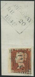 2865100: Great Britain 1840 1d black
