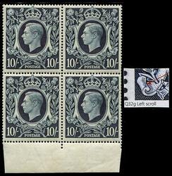 2980030: Hongkong König Georg VI - Blöcke