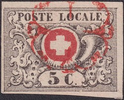5655080: Switzerland Transitional Period, Waadt, Neuenburg, Winterthur