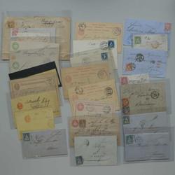 7240: Sammlungen und Posten Altschweiz - Ganzsachen