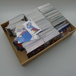 7820: Telephone Cards - Covers bulk lot